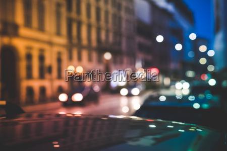 fahrt reisen bauten nacht nachtzeit reflexion